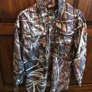 Drake button up hunting shirt - Size small